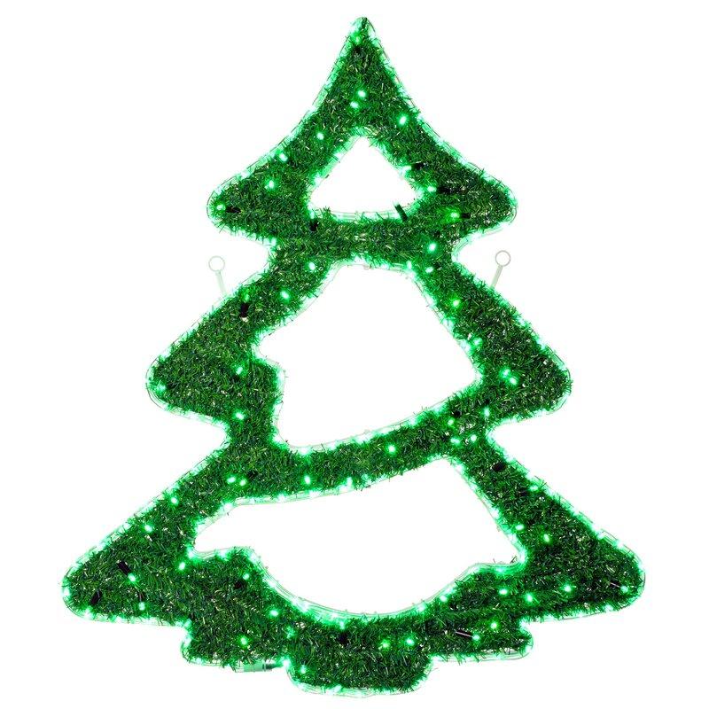 die saisontruhe beleuchtete dekoration weihnachtsbaum. Black Bedroom Furniture Sets. Home Design Ideas