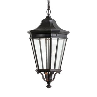 Guide to buy Chesterhill 1-Light Outdoor Hanging Lantern By Darby Home Co