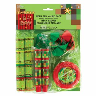 96 Piece TNT Mega Mix Plastic Disposable Party Favor Set