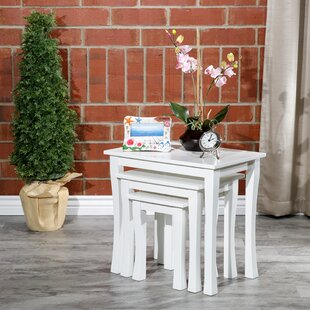 Dustin Furniture 3 Piece Nesting Tables by Alcott Hill