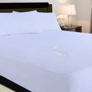Nanofibre 2 Piece Microfiber Stain Resistant Fitted Waterproof Mattress Protector Set