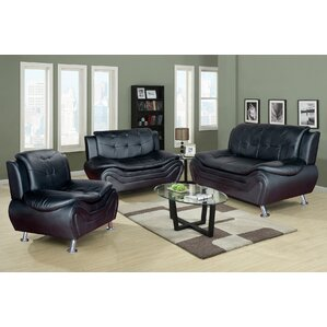 Living Room Set 3 Piece Living Room Set by S..
