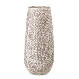 Koepke Basketweave Embossed Stoneware Table Vase