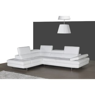 Summers Leather Sectional ..