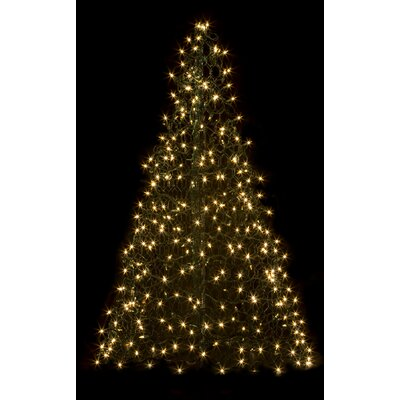 Crab Pot Christmas Trees Crab Pot Christmas Tree® with 350 Mini Lights Colour: Clear