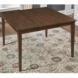 Giligia Extendable Solid Wood Dining Table by Winston Porter