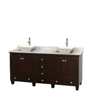 Acclaim 72 Double Bathroom Vanity Set by Wyndham Collection