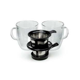 12-Cup Pour-Over Coffee Maker (Set of 3)
