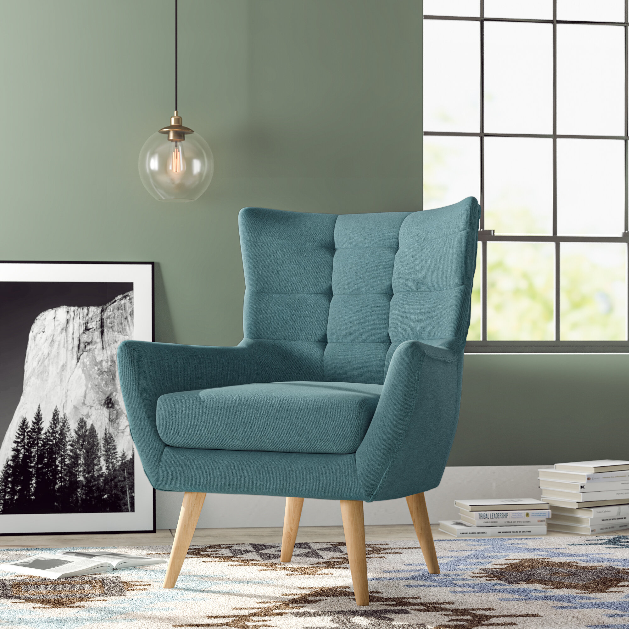 Caroyln Wingback Chair Reviews