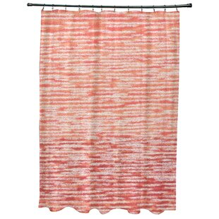 Find for Oakley Ocean View Geometric Print Shower Curtain ByRosecliff Heights