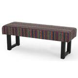 Saybrook Upholstered Bench by World Menagerie