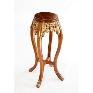 Gilted Oriental End Table by The Silver T..