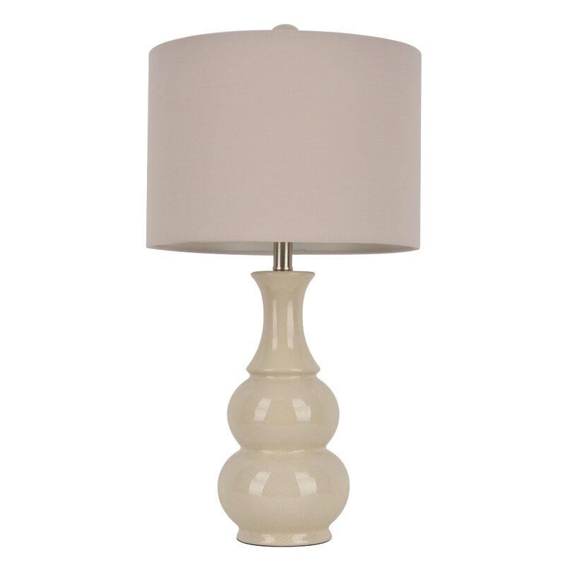 "Miltiades 26.5"" Table Lamp #classic decor #gourd #lamp"