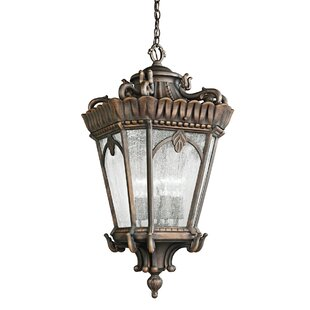Guzzi 4-Light Outdoor Hanging Lantern