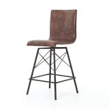 Marsden Swivel Bar Stool by 17 Stories