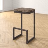 Landon Solid Wood 29.5 Bar Stool by Foundstone™