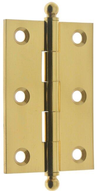Solid Brass Cabinet Hinge