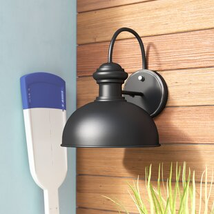 Shop For Binne 1-Light Outdoor Barn Light By Breakwater Bay