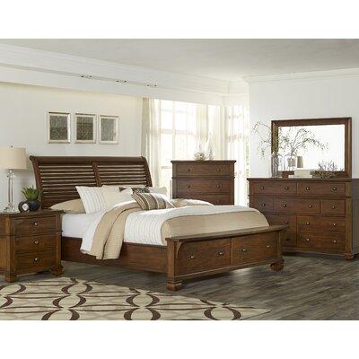 Bivens 3 Piece Bedroom Set Size: Queen