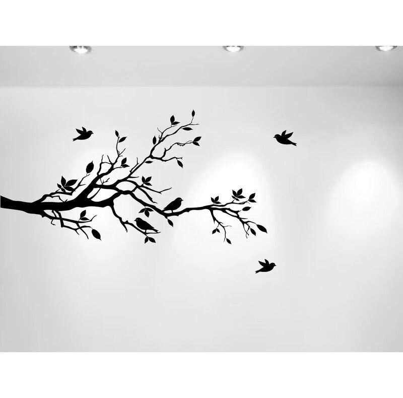 Love Birds Nursery Wall Decal