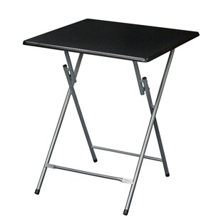Oversized Metal Folding Tray Table by Symple Stuff