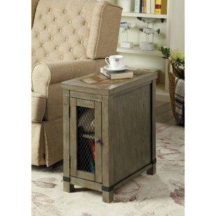 Gracie Oaks Rourke 1 Door End Table with Storage