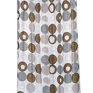 Comparison Nevin Stall Size Vinyl Shower Curtain By Ebern Designs
