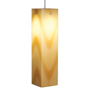 Bruck Lighting Houston 1-Light Square/Rectangle Pendant