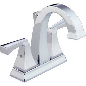 Drydenu0099 Centerset Double Handle Bathroom Faucet and Diamond Seal Technology