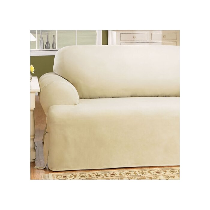 Super Cotton Duck T Cushion Loveseat Slipcover Ibusinesslaw Wood Chair Design Ideas Ibusinesslaworg