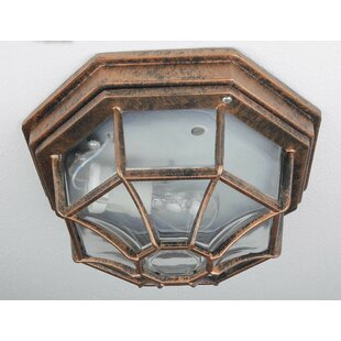 Pimentel Outdoor Flush Mount By Marlow Home Co.