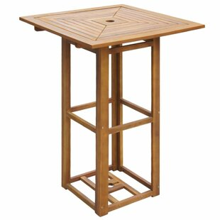 Wooden Bar Table By Sol 72 Outdoor