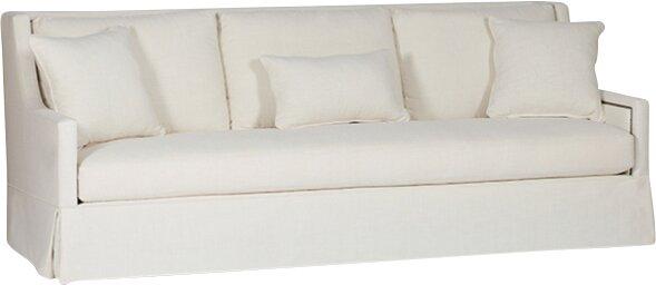 High Back Sofa. Cozy California Farmhouse Style {Home Decor Inspiration}