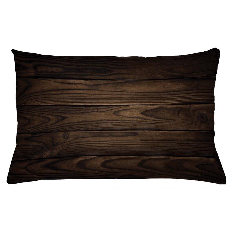Ebern Designs Thorgarth Chocolate Vintage Hardwood Outdoor Cushion Cover Wayfair Co Uk