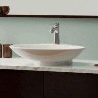 Comparison Ceramic Oval Vessel Bathroom Sink ByPolaris Sinks