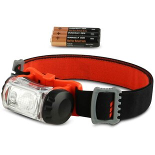 Pinajian Red Battery Powered Headlamp Image
