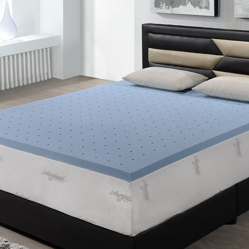 memory foam mattress topper. Simple Topper 2 With Memory Foam Mattress Topper