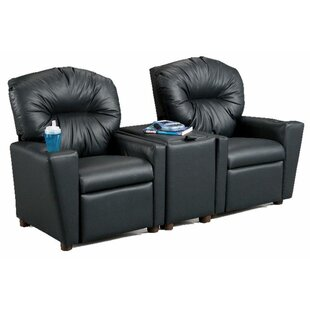 Price Check Jocelyne Home Theater Children's Cotton Recliner with Storage Compartment and Cup Holder ByZoomie Kids