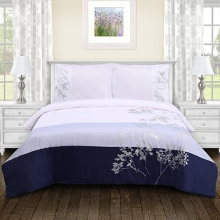 Sheila Embroidered Duvet Cover Set