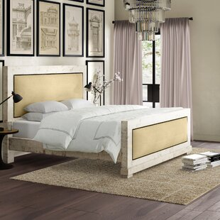 Rochelle Upholstered Panel Bed by Greyleigh