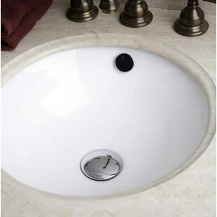 Check Prices Ceramic Circular Undermount Bathroom Sink with Faucet and Overflow By Royal Purple Bath Kitchen