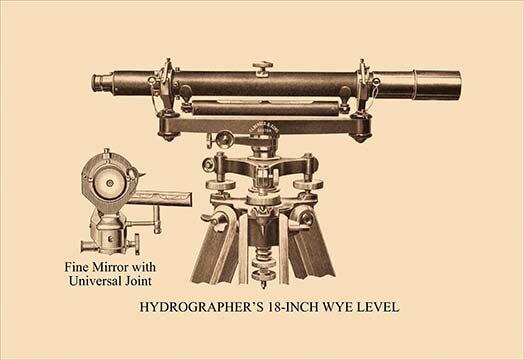 Buyenlarge Hydrographer S 18 Wye Level Graphic Art Wayfair