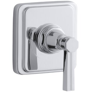 Kohler Pinstripe Valve Trim with Lever Handle for Volume Control Valve, Requires Valve