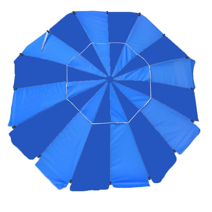 8 Ft Platinum Heavy Duty Beach Umbrella
