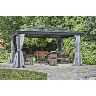 Gazebo Penguin All Season 12 Ft. W x 14 Ft. D Aluminum Patio Gazebo