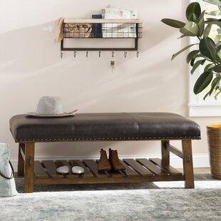 Millwood Pines Tabron Fabric Storage Bench