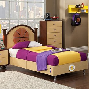 NBA Twin Platform Bed