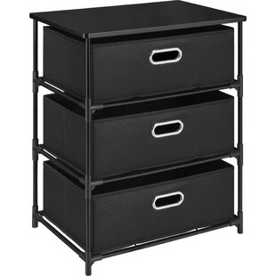 Ebern Designs Bohnsack 3 Drawer Storage End Table