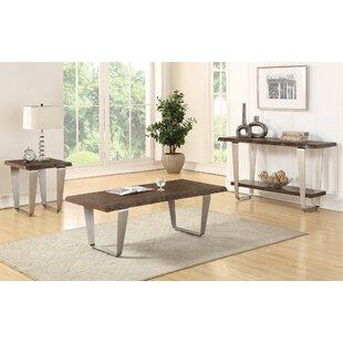 Ivy Bronx Gomez 3 Piece Coffee Table Set