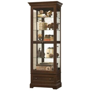 Molly Personal Storage Manford Lighted Curio Cabinet by Howard Miller®